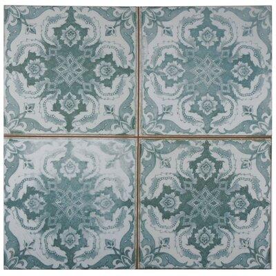 Royalty 17.75 x 17.75 Ceramic Field Tile in Seagate
