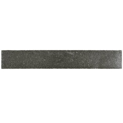 Milton 12 x 2 Counter Rail Tile Trim in Piazza Pewter