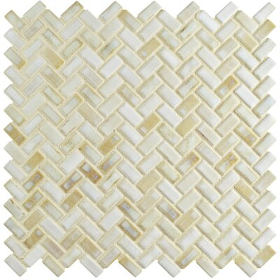 Arcadia 11.63 x 11.63 Porcelain Mosaic Floor and Wall Tile in Glacier