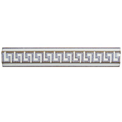 Essentia 1 x 5.88 Listello Trim Tile in Ivory