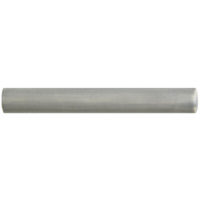 Arquivo 0.63 x 4.75 Pencil Listello Trim Tile in Gray