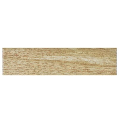 Bolivar 2.38 x 9.5 Porcelain Wood Look Tile in Beige
