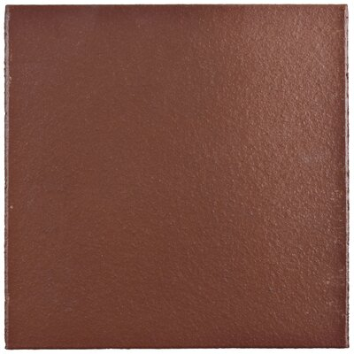 Shale 5.88 x 5.88 Ceramic Field Tile in Flame Red