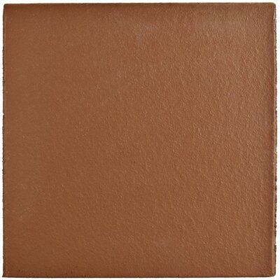 Shale 5.88 X 5.88 Bullnose Tile Trim in Red