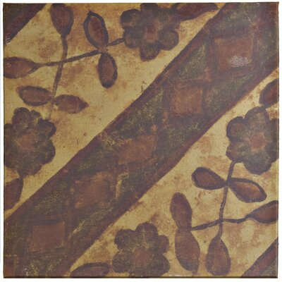 Shale 12.75 x 12.75 Ceramic Field Tile in Beige/Brown