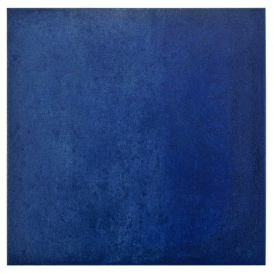Symbals 14.13 x 14.13 Porcelain Mosaic Tile in Blue