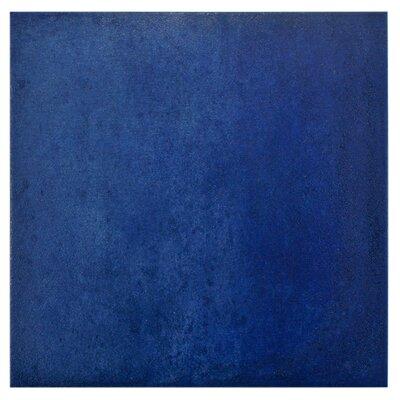 Symbals 14.13 x 14.13 Porcelain Mosaic Tile in Blue