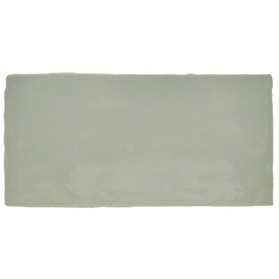 Tivoli 3 x 6 Ceramic Subway Tile in Sage Green
