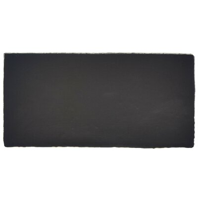 Tivoli 3 x 6 Ceramic Subway Tile in Matte Black
