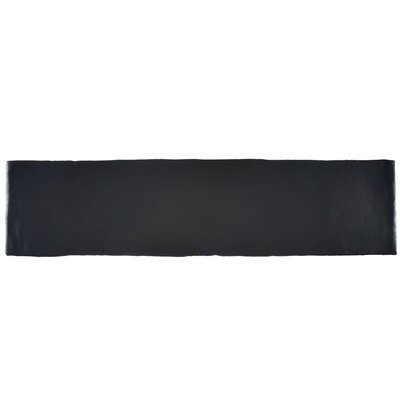 Tivoli 3 x 12 Ceramic Subway Tile in Matte Black