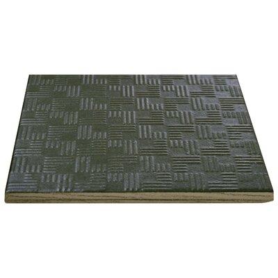 Region 6 x 6 Porcelain Field Tile in Semi-Gloss Black