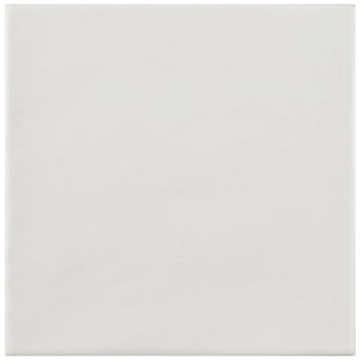 Haute 5.88 x 5.88 Ceramic Field Tile in Blanco