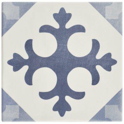 Haute 5.88 x 5.88 Ceramic Field Tile in Semi-Gloss Blue