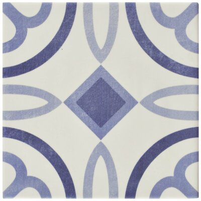 Haute 5.88 x 5.88 Ceramic Field Tile in Blue