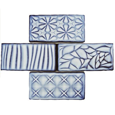 Antiqua Sensations 3 x 6 Ceramic Subway Tile in Glossy Blue