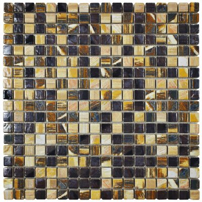 Arcadia 0.56 x 0.56 Porcelain Mosaic Tile in Highlands