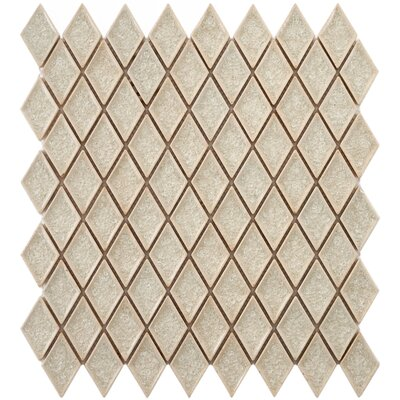 Interval 1 x 2 Ceramic Mosaic Tile in Beige