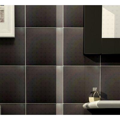 Anthrakites 7.75 x 7.75 Ceramic Field Tile in Black
