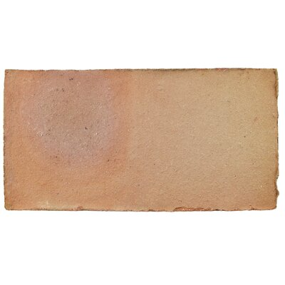 Perche 5.5 x 10.75 Terra Cotta Field Tile in Brown