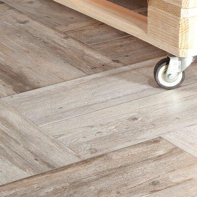 Alcazar 7.88 x 23.63 Ceramic Wood Look Tile in Matte Beige