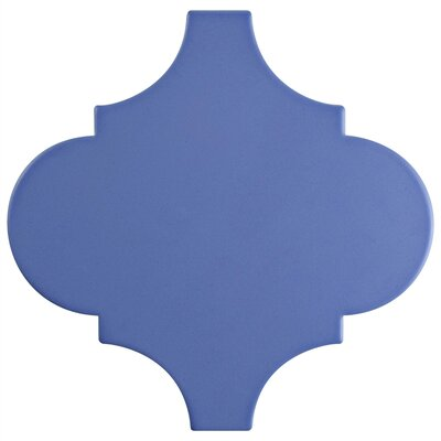 Beacon 8 x 8 Porcelain Mosaic Tile in Blue