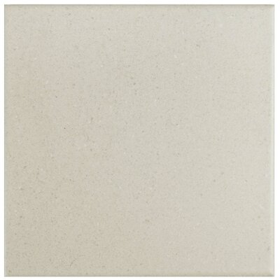 Heather 5.875 x 5.875 Porcelain Field Tile in White