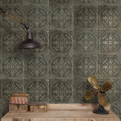 Castile 13 x 13 Ceramic Floor and Wall Tile in Green