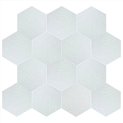 Soprano 8.63 x 9.88 Porcelain Field Tile in White