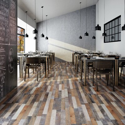 Chic 12.25 x 23.625 Porcelain Wood Look  in Rustico