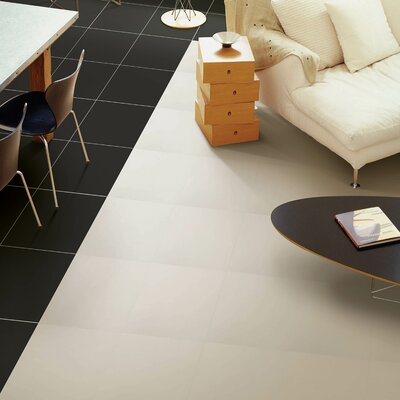 Classic 13 x 13 Porcelain Field Tile in Black