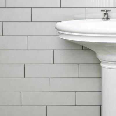 Prospect 4 x 15.75 Ceramic Subway Tile in White