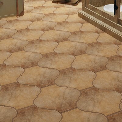 Mezcla 10.38 x 11.38 Porcelain Field Tile in Provenzal Clay