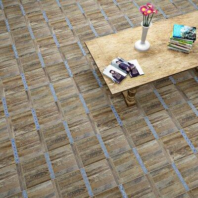 Guiana 11 x 22.13 Porcelain Field Tile in Brown