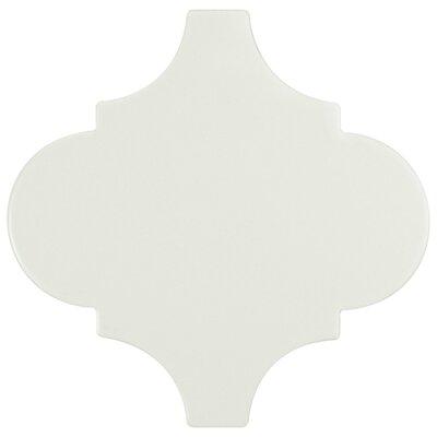 Beacon 8 x 8 Porcelain Mosaic Tile in Light Gray