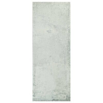 Byth 5.88 x 15.75 Ceramic Field Tile in Gray