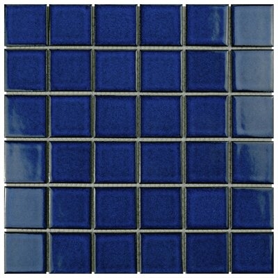 Pool 2 x 2 Porcelain Mosaic Tile in Bering