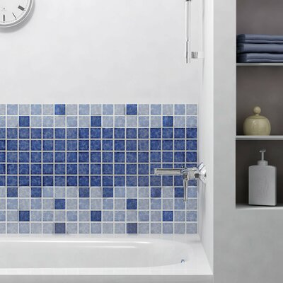 Pool 2 x 2 Porcelain Mosaic Tile in Catalan