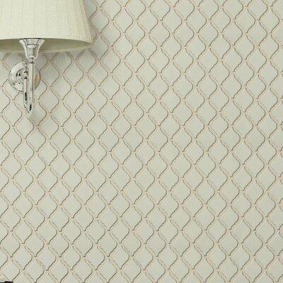 Arabesque 1.87 x 2.75 Porcelain Mosaic Tile in Selene