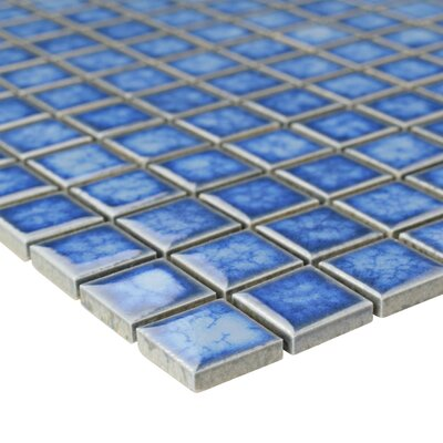 Pool 1 x 1 Porcelain Mosaic Tile in Baltic