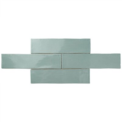 Tivoli 3 x 12 Ceramic Field Tile in Light Blue