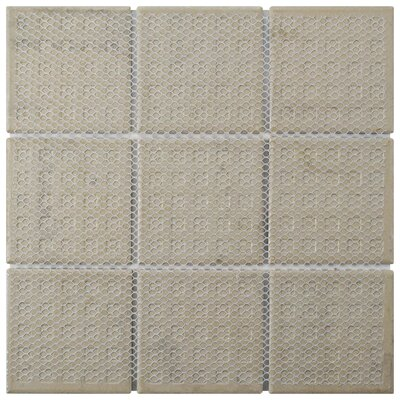 Melody Queen 3.83 x 3.83 Porcelain Mosaic Tile in Candio
