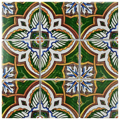 Melody Queen 3.83 x 3.83 Porcelain Mosaic Tile in Stelenes