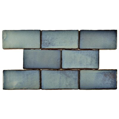 Antiqua 3 x 6 Ceramic Subway Tile in Special Griggio
