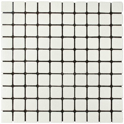 Minerva 1.1 x 1.1 Porcelain Mosaic Tile in White