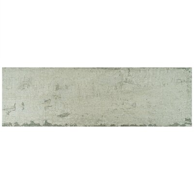 Origina 7.875 x 25.875 Porcelain Field Tile in Gray