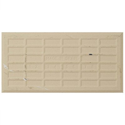 Karra Carrara 3 x 6 Ceramic Subway Tile in Glossy Inmetro White/Gray
