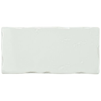Frisia Subway 2.5 x 5.13 Ceramic Subway Tile in White