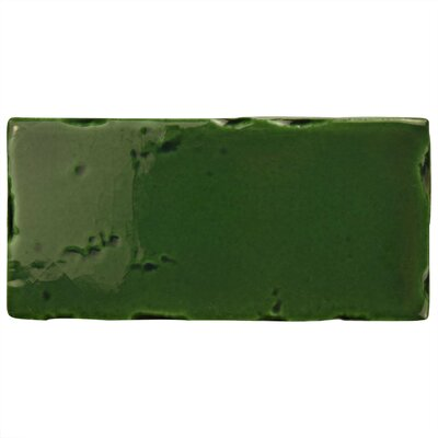 Frisia Subway 2.5 x 5.13 Ceramic Subway Tile in Green
