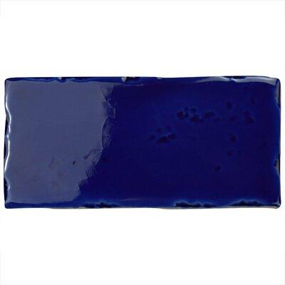 Frisia Subway 2.5 x 5.13 Ceramic Subway Tile in Blue