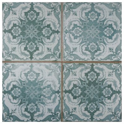 Royalty 17.75 x 17.75 Ceramic Field Tile in Seagate
